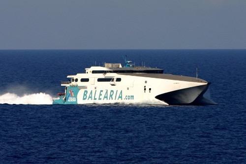 Balearia fast ferry to Grand Bahama Island
