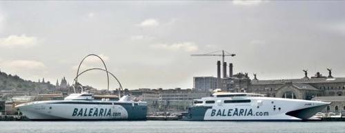 Balearia Jaume fast ferries