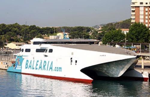 Balearia Jaume fast ferry to Grand Bahama